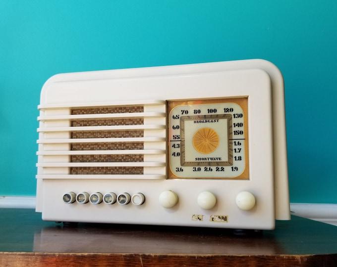 1938 Clinton 629XP Working AM Radio