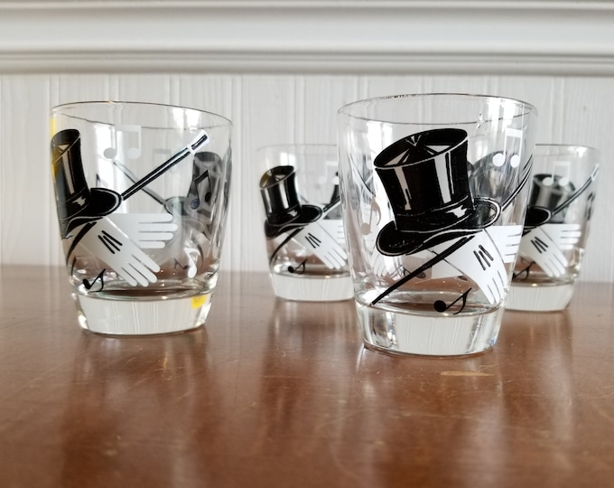 Showtime Set of Four Bar Glasses