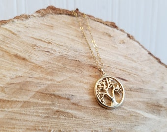 Tree of Life Necklace - 14k Gold-Filled