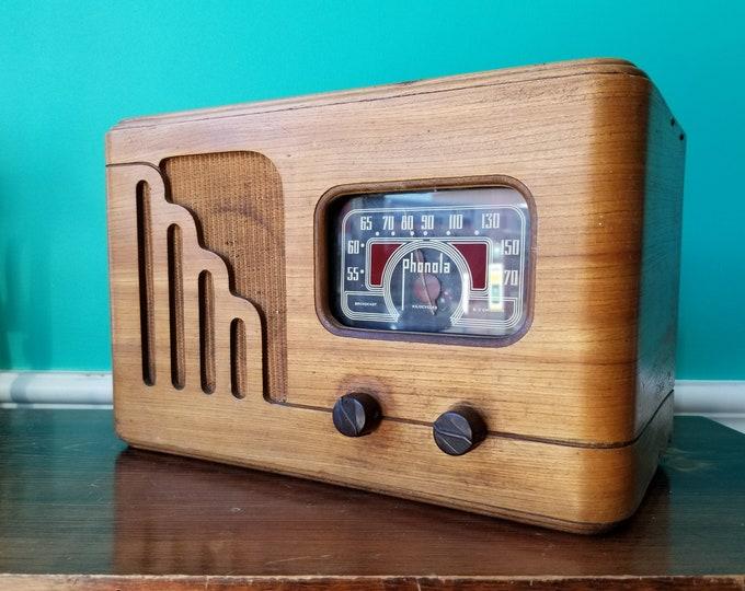 1947 Phonola AM Farm Radio