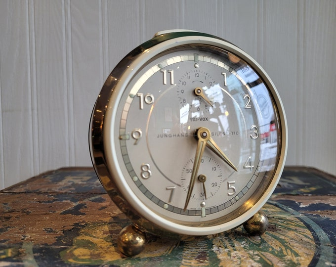 1968 Junghans Tri-Vox Alarm Clock
