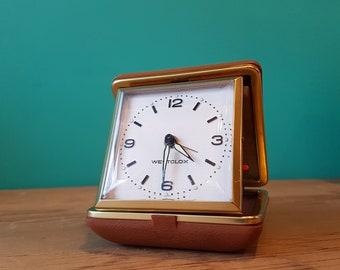 Westclox of Taiwan - Manual Travel Alarm Clock