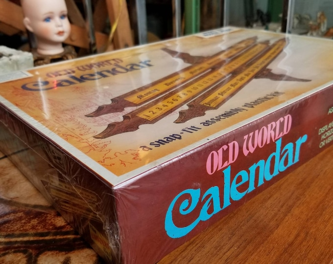 Old World Calendar Kit - New Old Stock