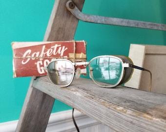 Vintage Welding Glasses