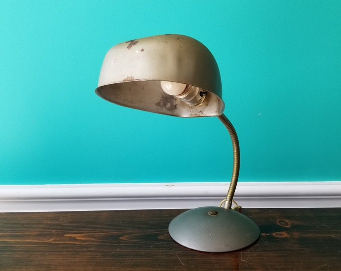 Vintage Electric Adjustable Industrial Desk Lamp
