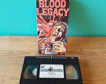 Blood Legacy - VHS Movie