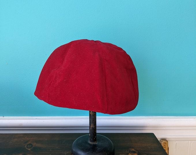 Burgandy Velvet Chapeau