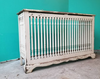 Rustic Wooden Radiator Cover