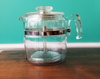 Pyrex 6 Cup Coffee Percolator - Complete