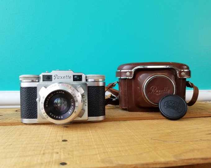 1954 Braun Paxette II 35mm Film Camera