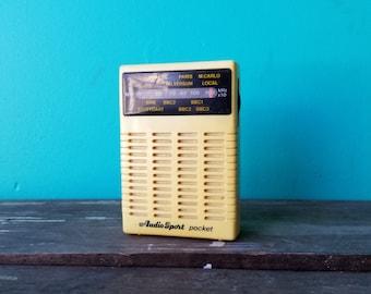 Mini Transistor Radio - Pocket Size