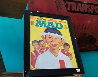 MAD - Framed June 1987 No.271 Magazine Cover