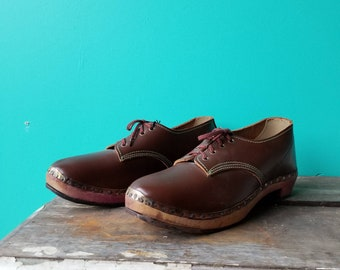 Unique Wooden Clogs