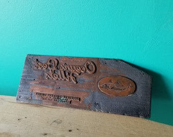 Canadian Fisheries Printing Plate