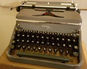1950's Hermes 2000 Typewriter