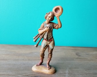 Vintage Fontanini Figurine - 101 The Bagpiper