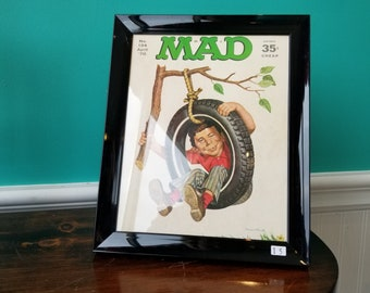 MAD - Framed April 1970 No.134 Magazine Cover