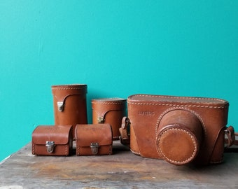 Argus Leather Camera Case