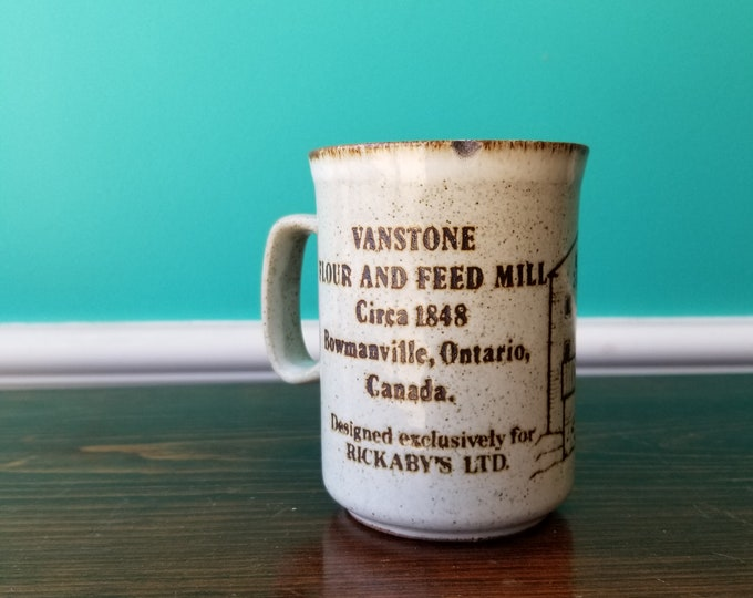 Vanstone Flour and Feed Mill - Bowmanville, ON Souvenir Mug