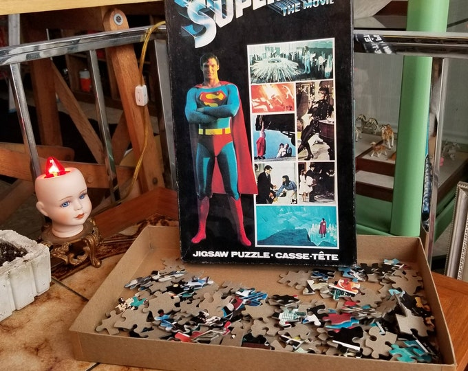 1980s Superman Movie Puzzle