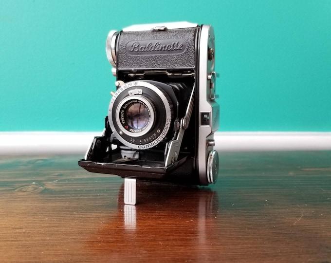 Balda Baldinette 35mm Film Folding Camera - With Case