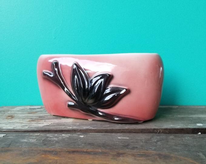 Vintage Ceramic Flower Arrangement Vase