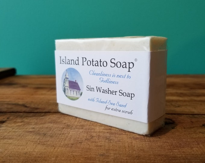 Island Potato Soap Co - Sin Washer Soap