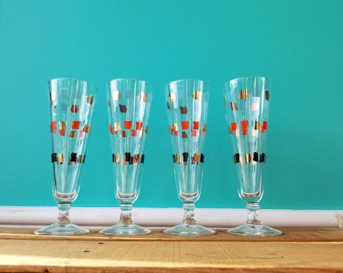Midcentury Modern Cocktail Glasses Set
