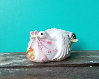 Vintage Ceramic New Baby Vase