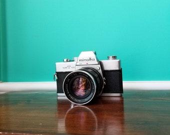 Minolta SRT-101 - Rokkor 100mm f3.5 Lens