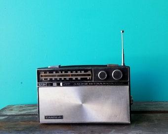 Candle AM FM Transistor Radio