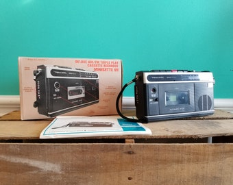 Realistic Minisette VII - Working - Cassette Recorder