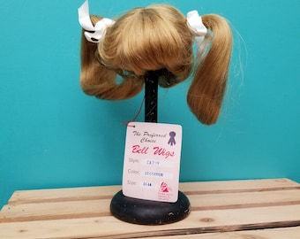 Bell Doll Wig Playhouse Collection (LT. Copper)
