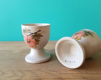 Floral Egg Cups - Made in Korea