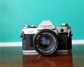 Canon AE-1 - 35mm Film SLR