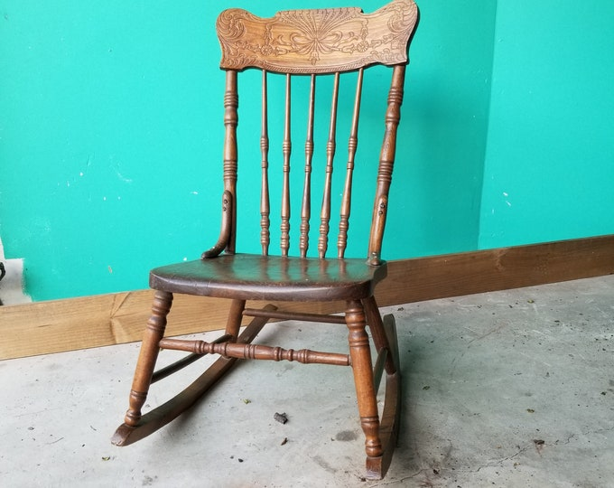 Pressback Rocking Chair - Local Pick Up