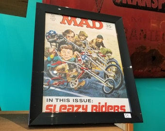 MAD - Framed June 1970 No.135 Magazine Cover