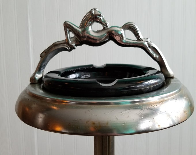 Unique Equestrian Ashtray Stand