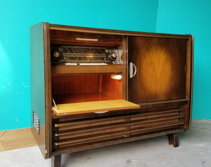 1960s Nordmende Isabella Stereo Console - AM/FM/SW and Record Player