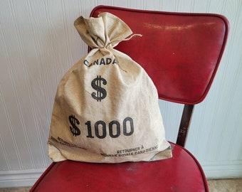 Vintage Money Bag