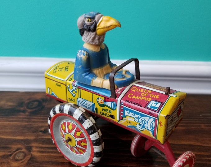 One of a Kind Marx Queen of the Campus Tin Toy