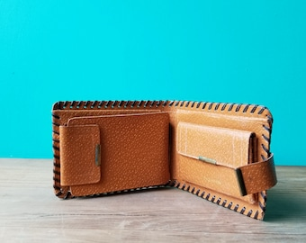 Vintage Pig Skin Wallet - Ben Casey MD - Vincent Edwards