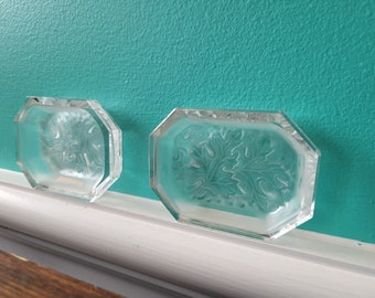 Leaded Crystal Butter Dish