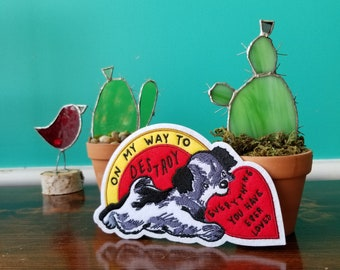 On My Way - Embroidered Patch - Stay Home Club