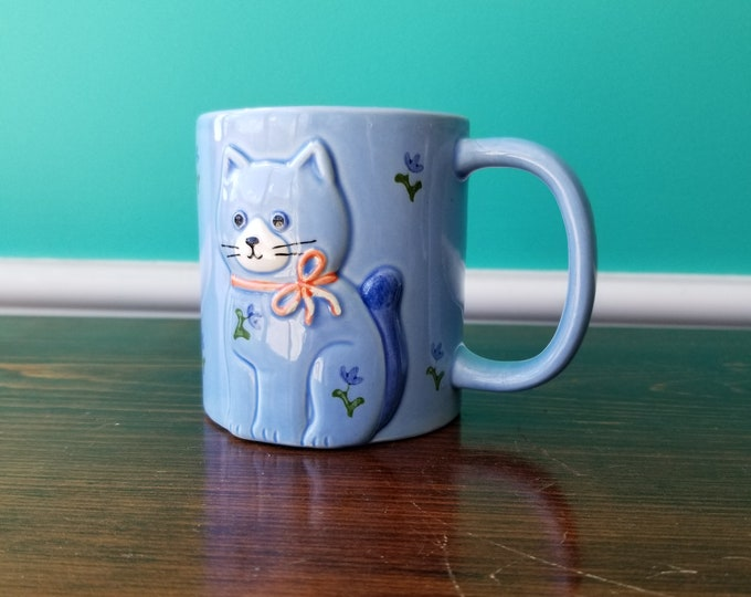 Cute Kitty Decorative Mug - Otagiri - Japan