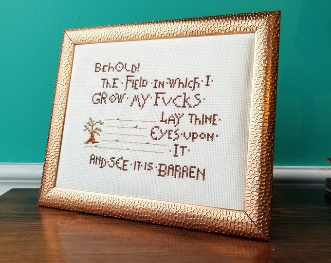 Behold! - Crassstitches