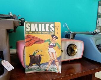 Smiles - 1950's Men's Magazine - Canadian Edition