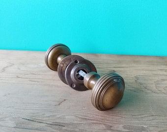 Antique Door Knob Set