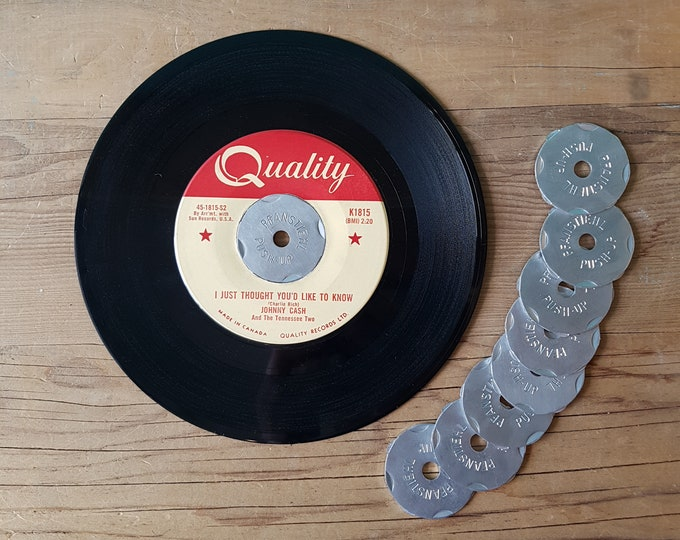 Vintage Pfanstiehl Aluminum Record Centre Adapter