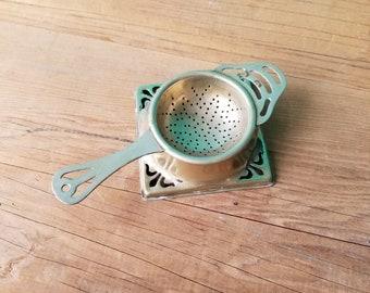 Silver Plated Brass Tea Bag Rest